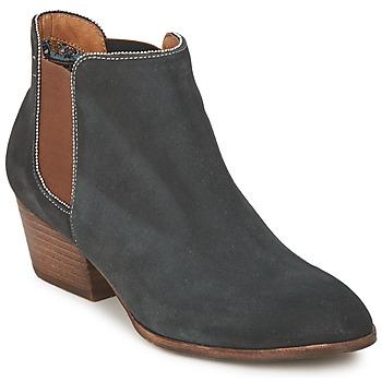 Sapatos Mulher Botas baixas Schmoove WHISPER CHELSEA Marinho / Castanho
