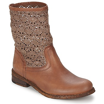 Sapatos Mulher Botas baixas Felmini GREDO Chocolate