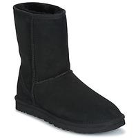 Sapatos Mulher Botas baixas UGG CLASSIC SHORT Preto
