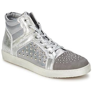 Sapatos Mulher Sapatilhas de cano-alto Hip 90CR Prata