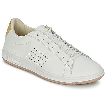 Sapatos Sapatilhas Le Coq Sportif ARTHUR ASHE RAFFIA Creme