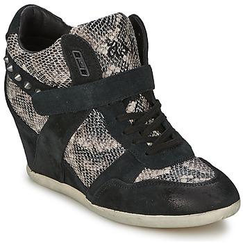 Sapatos Mulher Sapatilhas de cano-alto Ash BISOU Preto