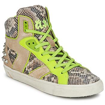 Sapatos Mulher Sapatilhas de cano-alto Ash SONIC Amarelo