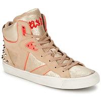 Sapatos Mulher Sapatilhas de cano-alto Ash SPIRIT Bege / Rosa