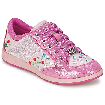Sapatos Rapariga Sapatilhas Lelli Kelly GLITTER-ROSE-CALIFORNIA Rosa