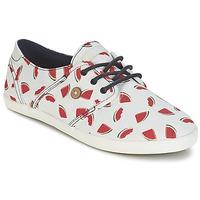 Sapatos Mulher Sapatilhas Faguo CYPRESS Branco / Vermelho