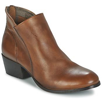 Sapatos Mulher Botins Hudson  Castanho
