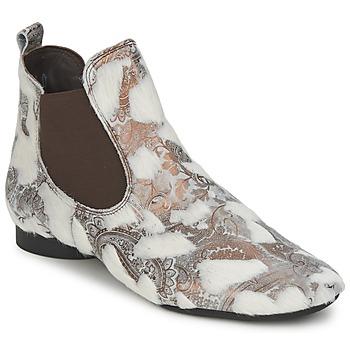 Sapatos Mulher Botas baixas Think ASSAM Bege