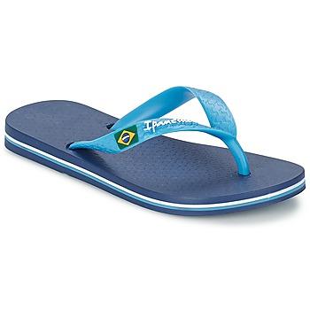 Sapatos Rapaz Chinelos Ipanema CLASSICA BRASIL II Azul