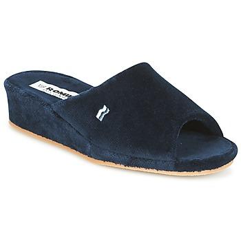 Sapatos Mulher Chinelos Romika Paris Marinho