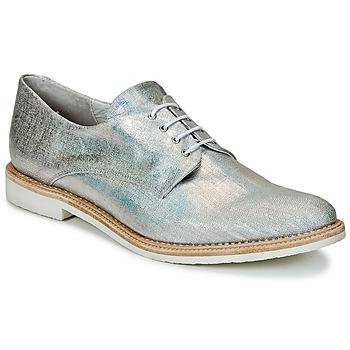 Sapatos Mulher Sapatos Miista ZOE Prateado