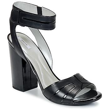 Sapatos Mulher Sandálias Geox NOLINA Preto