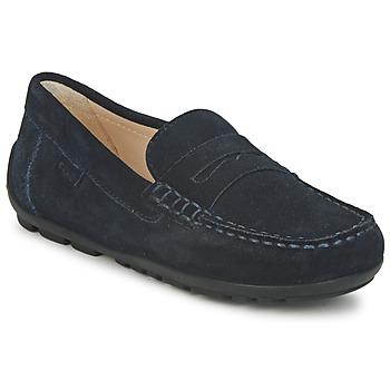 Sapatos Rapaz Mocassins Geox FAST Azul