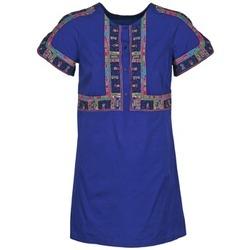 Textil Mulher Vestidos curtos Antik Batik EMILIE Marinho