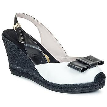 Sapatos Mulher Sandálias RAS FROI Preto / Branco