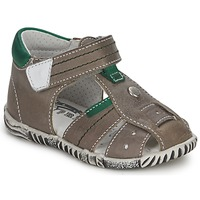 Sapatos Rapaz Sandálias Primigi QUINCY Cinza / Verde