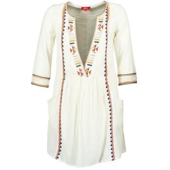 Textil Mulher Vestidos curtos Derhy EMBOUCHURE Cru