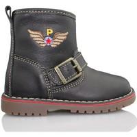 Sapatos Criança Botas baixas Pablosky TOMCAT BOTA NEGRO