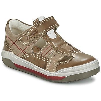 Sapatos Rapaz Sandálias Primigi GART Castanho