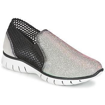 Sapatos Mulher Sapatilhas Felmini ARJEMISE Prateado / Preto