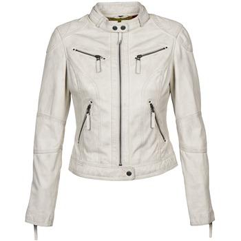 Textil Mulher Casacos de couro/imitação couro Oakwood 60135 Branco