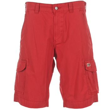Textil Homem Shorts / Bermudas Napapijri PORTES A Vermelho