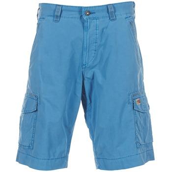 Textil Homem Shorts / Bermudas Napapijri PORTES A Azul