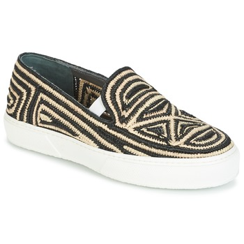 Sapatos Mulher Slip on Robert Clergerie TRIBAL Preto
