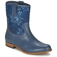 Sapatos Mulher Botas baixas Alba Moda FALINA Azul