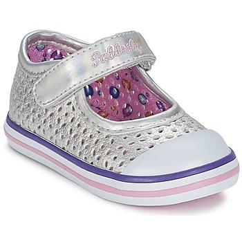 Sapatos Rapariga Sabrinas Pablosky JILENA Prateado / Rosa