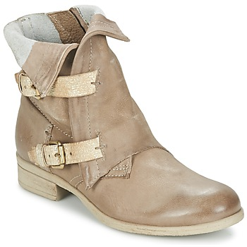 Sapatos Mulher Botas baixas Dream in Green ANJELIKA Bege