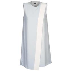 Textil Mulher Vestidos curtos Joseph SOL Cinza / Branco