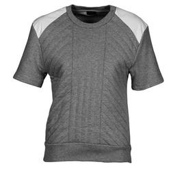 Textil Mulher Sweats Joseph RD NK SS Cinza / Branco
