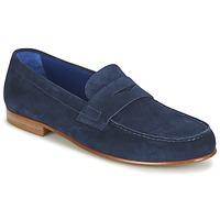 Sapatos Homem Mocassins Azzaro GOURIAN Marinho