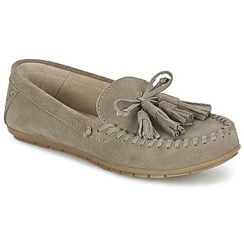 Sapatos Mulher Mocassins Esprit SIRA LOAFER Cáqui / Claro