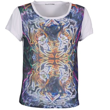 Textil Mulher T-Shirt mangas curtas DDP PORIX Multicolor