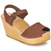 Sapatos Mulher Sandálias Le comptoir scandinave  Castanho