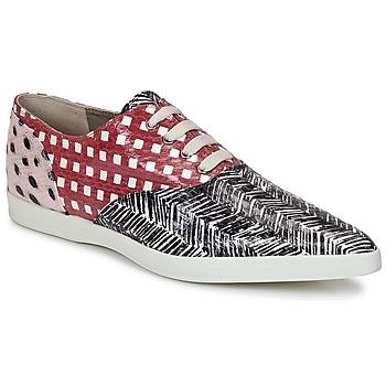 Sapatos Mulher Sapatos Marc Jacobs Elap Preto / Branco / Vermelho