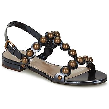 Sapatos Mulher Sandálias Marc Jacobs Vegetal Preto