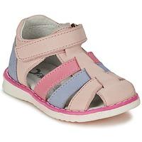 Sapatos Rapariga Sandálias Citrouille et Compagnie FRINOUI Rosa / Azul / Claro / Fúchsia