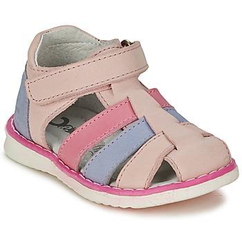 Sapatos Rapariga Sandálias Citrouille et Compagnie FRINOUI Rosa / Azul / Claro / Rosa fúchia