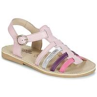 Sapatos Rapariga Sandálias Citrouille et Compagnie JASMA Rosa / Violeta