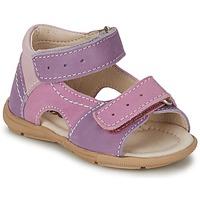 Sapatos Rapariga Sandálias Citrouille et Compagnie KIMMY G Lilás / Violeta