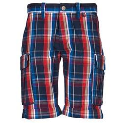 Textil Homem Shorts / Bermudas Oxbow TAKAROA Marinho / Vermelho