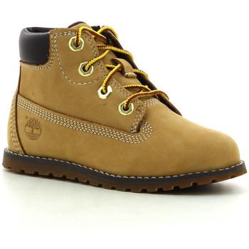 Sapatos Rapaz Botas baixas Timberland Pokey Pine 6In Boot Wheat