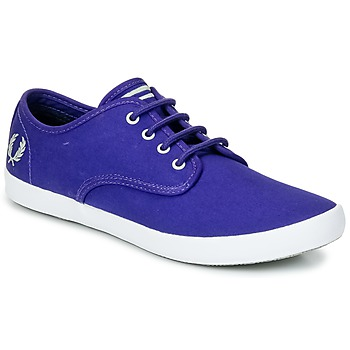 Sapatos Homem Sapatilhas Fred Perry FOXX TWILL Violeta