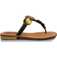 Sapatos Mulher Sandálias Geox D ADVICE H VIT NEGRO