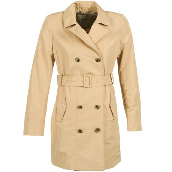 Textil Mulher Trench Geox LAURA Bege