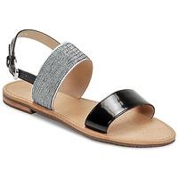 Sapatos Mulher Sandálias Geox SOZY A Preto
