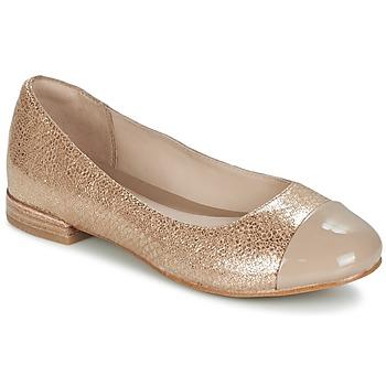 Sapatos Mulher Sabrinas Clarks FESTIVAL GOLD Champanhe